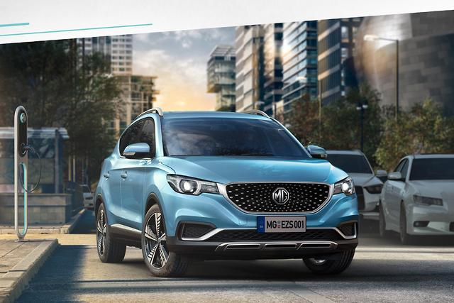 MG eZS is Chinese brand's first pure-electric car - motoring