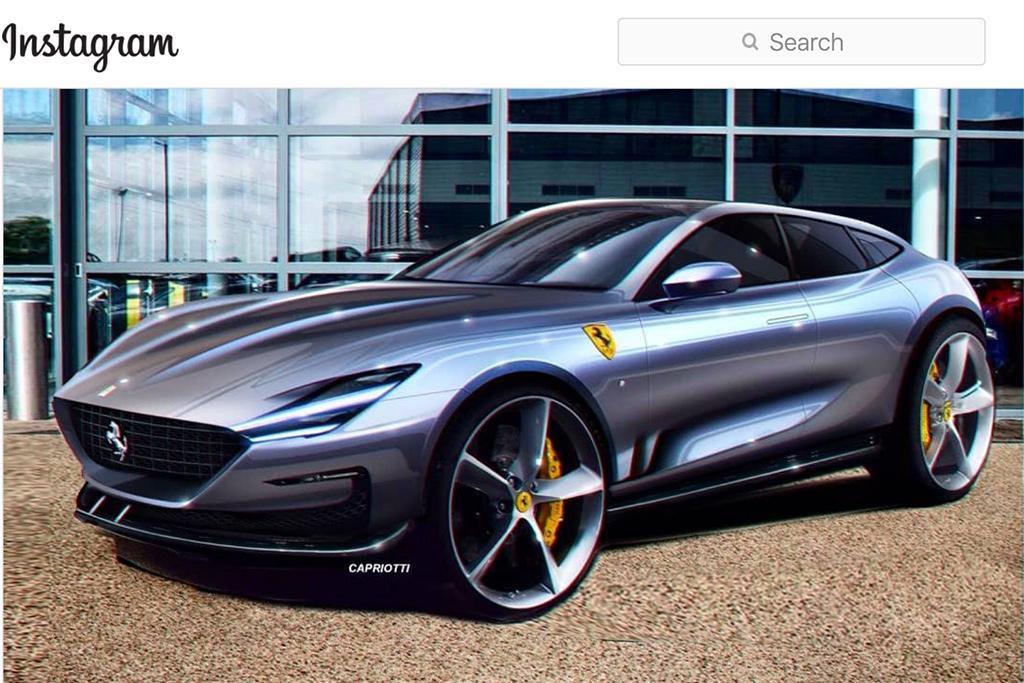Ferrari Suv Takes Shape Motoring Com Au