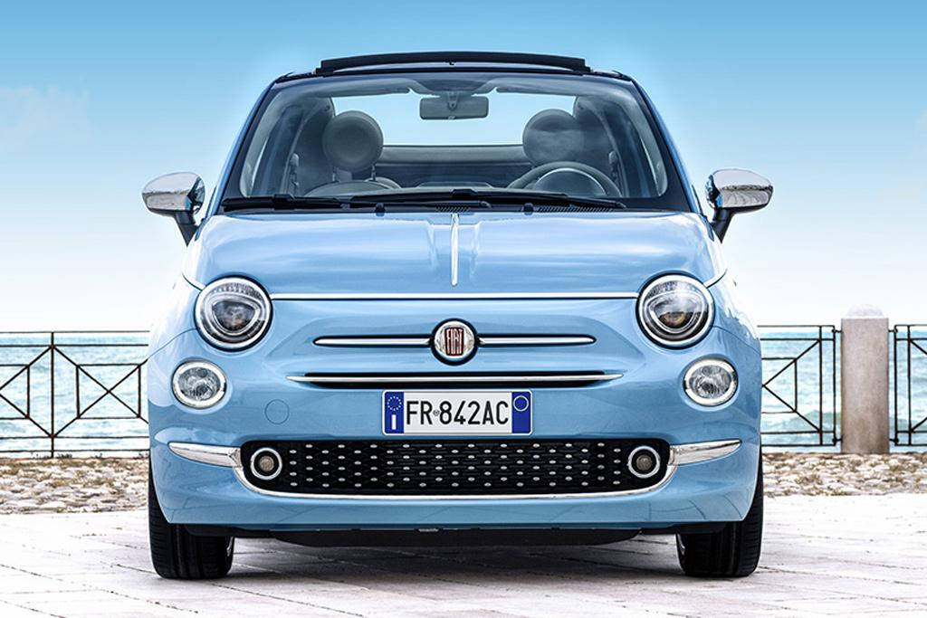 0611db24b30f63 Special-edition Fiat 500 convertible adds vintage chic to iconic Italian  micro-car