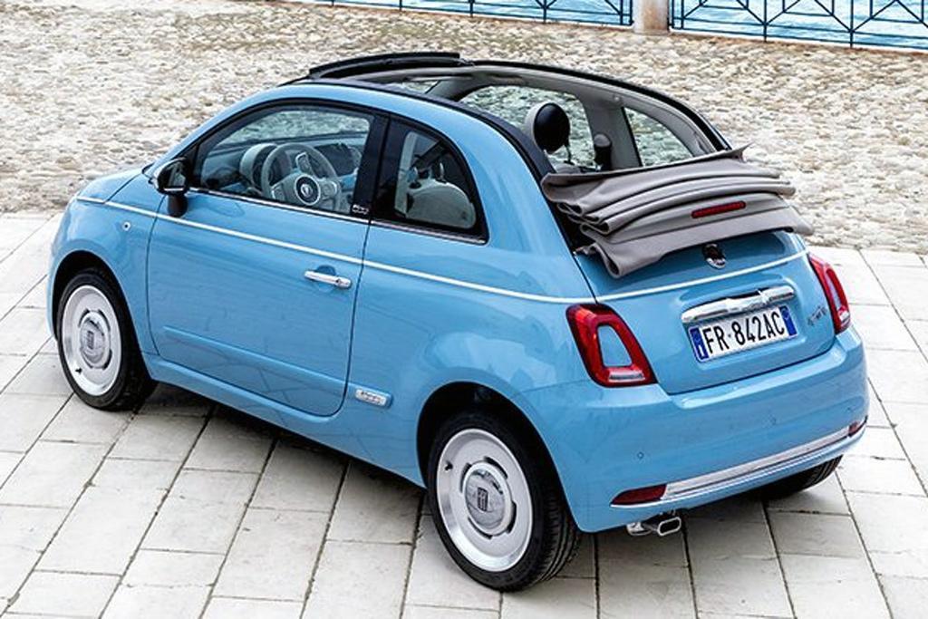 Fiat 500C Spiaggina '58