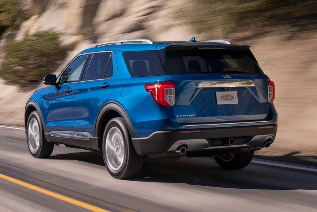 New Ford Explorer >> 2020 Ford Explorer Suv Revealed Motoring Com Au