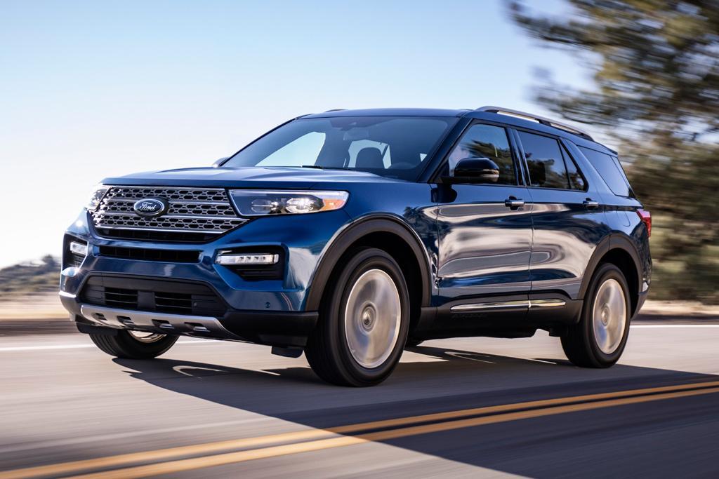 2020 Ford Explorer Suv Revealed Motoring Com Au