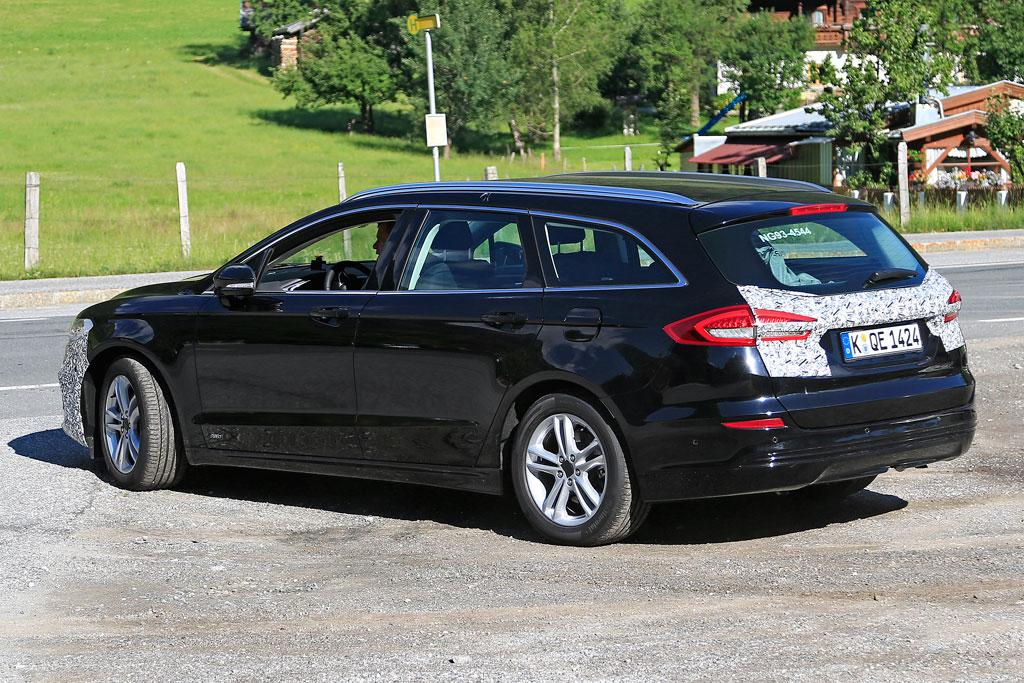 Ford Mondeo 2018 Facelift >> SPY PICS: 2019 Ford Mondeo outed - motoring.com.au