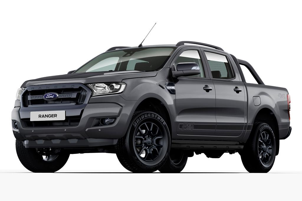 limited ford ranger black edition pick up truck revealed autos post. Black Bedroom Furniture Sets. Home Design Ideas