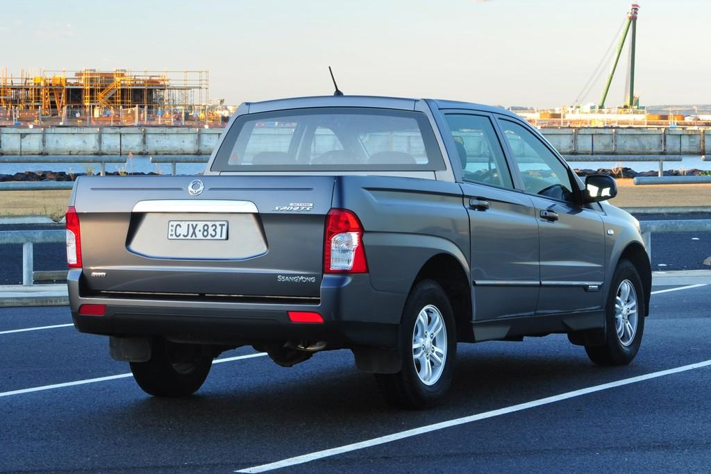 Ssangyong Actyon 2013 Road Test Motoring Com Au