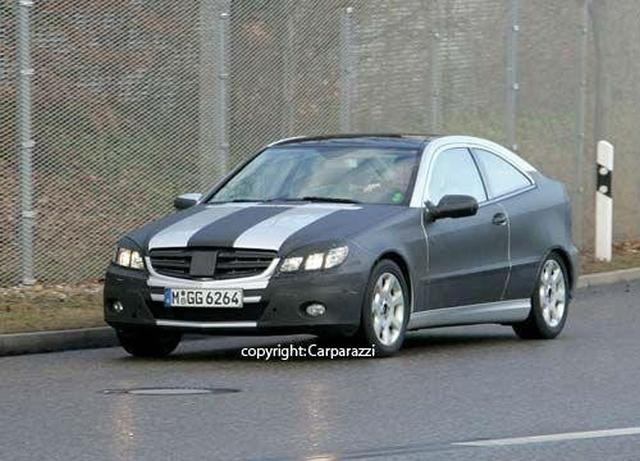 SPY PICS: Next Sports Coupe to remain W203-based - motoring
