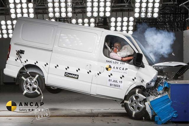 feeff7f09b Two-star ANCAP rating for LDV van - motoring.com.au