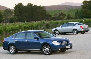 Nissan Maxima 250 ST-L, 350 ST-S and 350 Ti - motoring com au