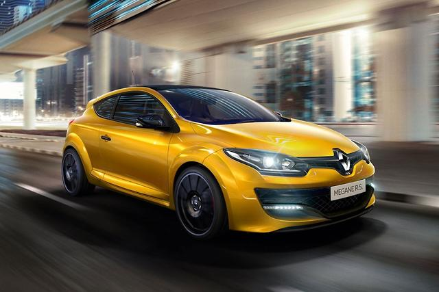 renault megane rs gets more power for 2016. Black Bedroom Furniture Sets. Home Design Ideas