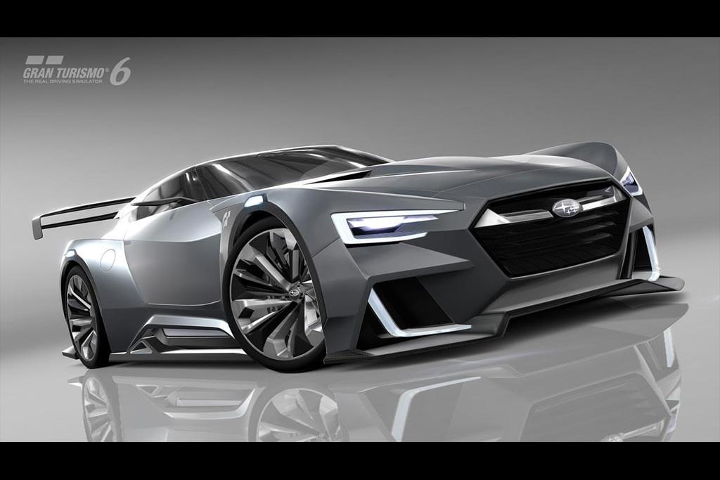 Subaru Viziv Gt Vision Gran Turismo Concept Motoring