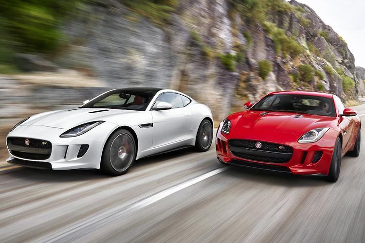 Jaguar F TYPE Coupe Arrives