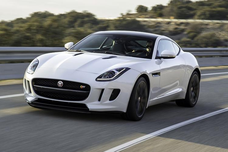 Jaguar F TYPE S Coupe 2014 Review