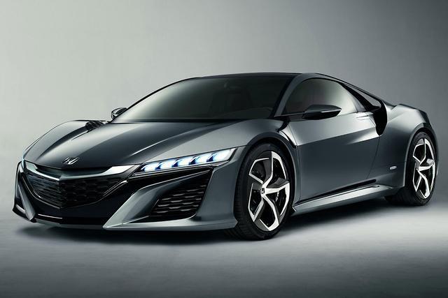 Honda Sports Car Ault Begins 2016