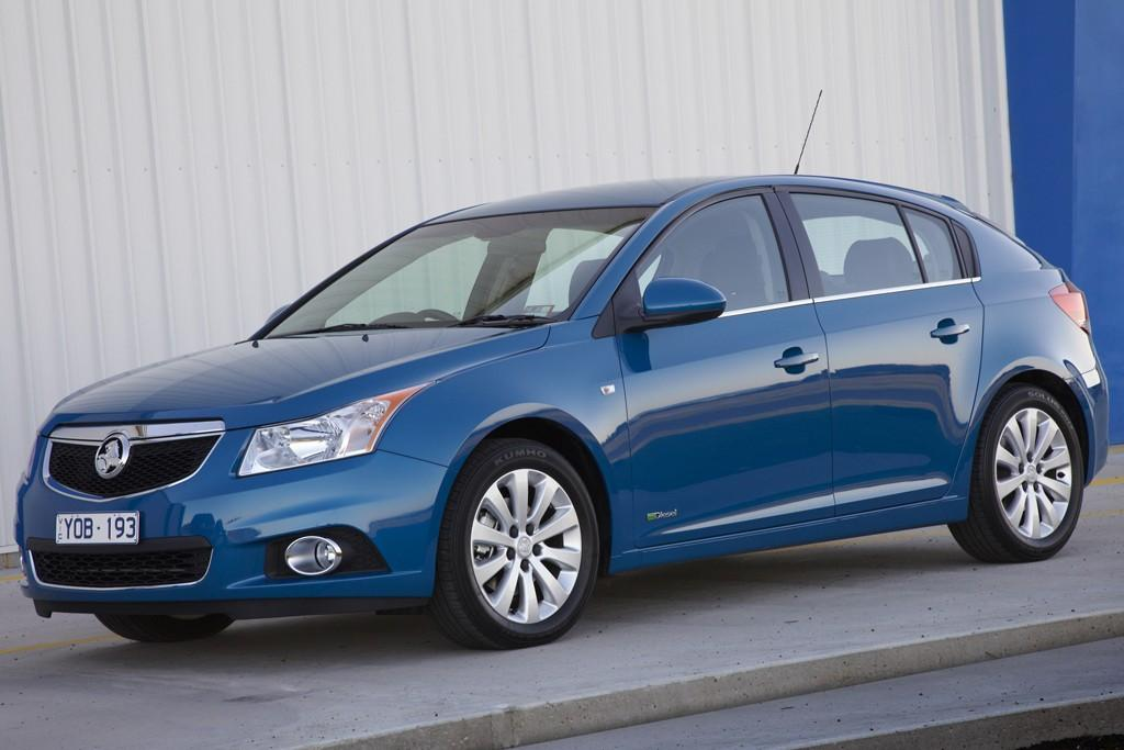 Holden Cruze Hatch Launch Review Motoring Com Au