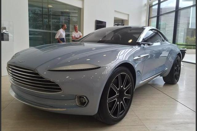 Aston Martin DBX SUV Concept: Design, Specs >> Aston Martin Boss Tweets Pics Of Dbx Crossover Motoring Com Au