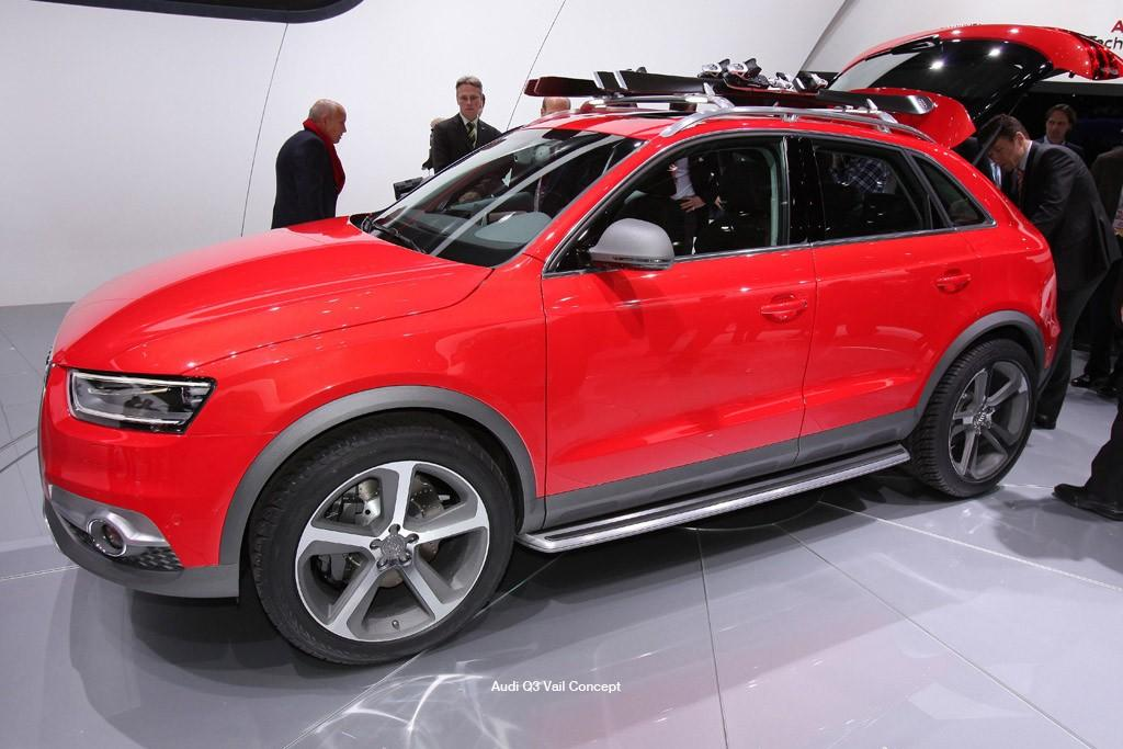 Detroit Motor Show Audi Q3 Vail Motoring