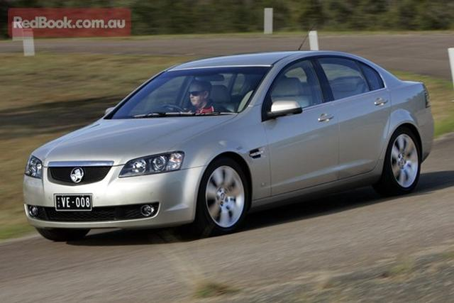To Trim Weight The Holden Commodore Loses A Wheel