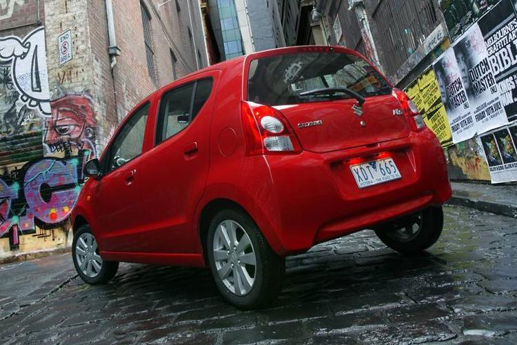 Hatch Match Suzuki Alto Vs Holden Barina Spark Vs Nissan