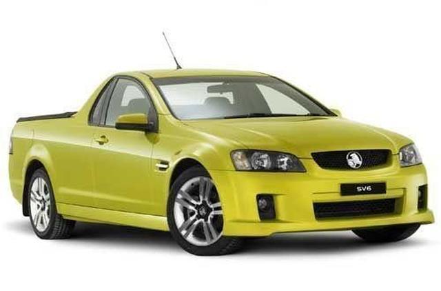 More On Holden Ve Ute Models Equipment And Colours Motoring