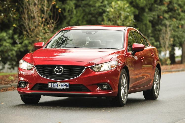 Mazda 6: Medium Sedan Comparison 2014