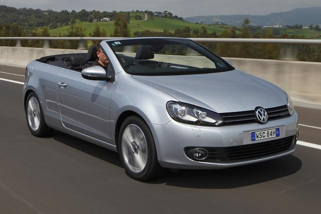 Volkswagen Golf Cabrio Local Launch Motoring