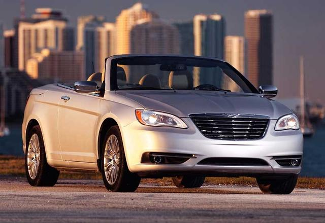 Chrysler 200 Convertible >> Chrysler Unveils New 200 Convertible Motoring Com Au