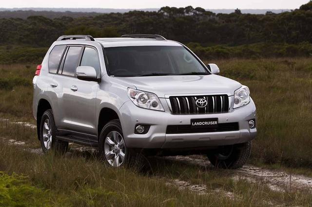 Prado gains Altitude - motoring com au