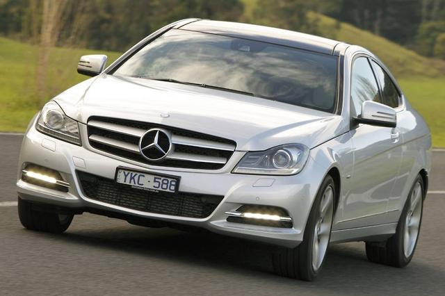 Mercedes Benz C180 Blueefficiency Coupe Road Test