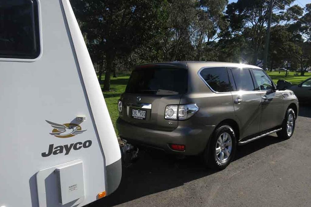 Nissan Patrol Y61 vs  Y62: Tow Test - motoring com au