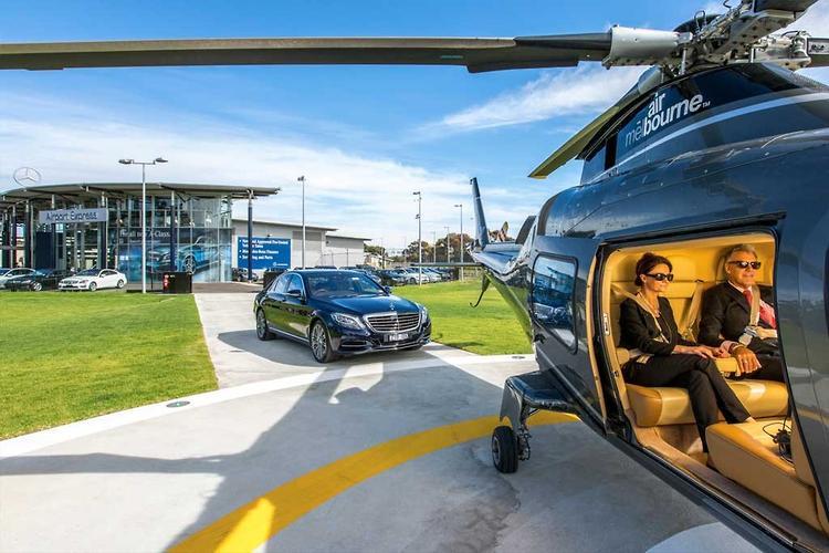 Mercedes benz airport express