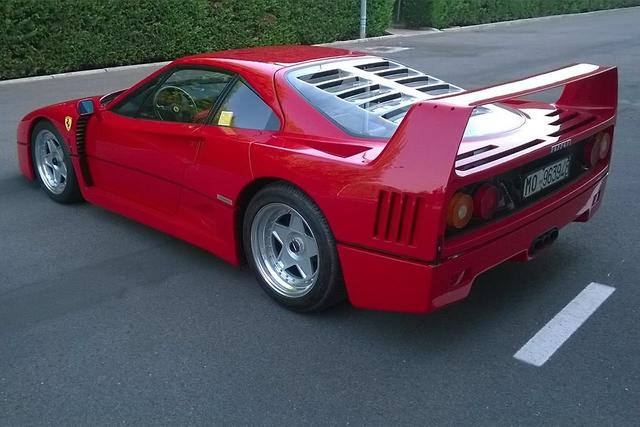 Ferrari F40 Goes For 1 8m Motoring Com Au