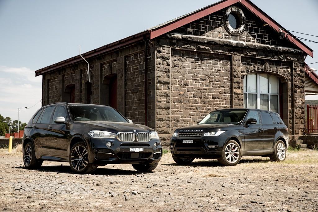 BMW X5 M50d v Range Rover Sport Supercharged 2014 Comparison