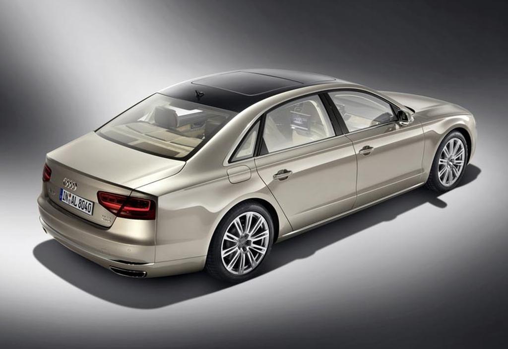 Beijing Debut For Audi A L W Motoringcomau - Audi a8 l w12