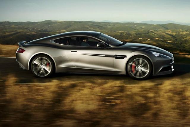Aston Martin Vanquish New Pics And Video