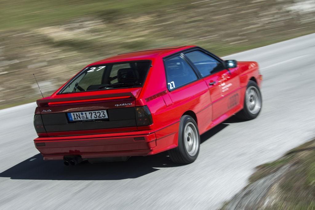 Audi Ur Quattro Coupe 1988 Retro Road Test Motoring