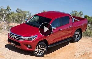 Toyota blesses HiLux with 335kW Lexus V8 - motoring com au