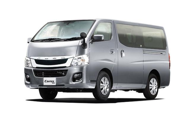 fuso and nissan unveil canter van - motoring.au