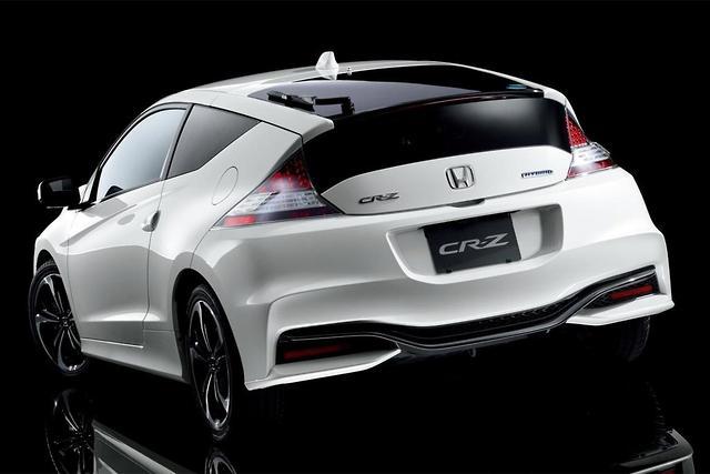 Honda Cr Z Hybrid Updated