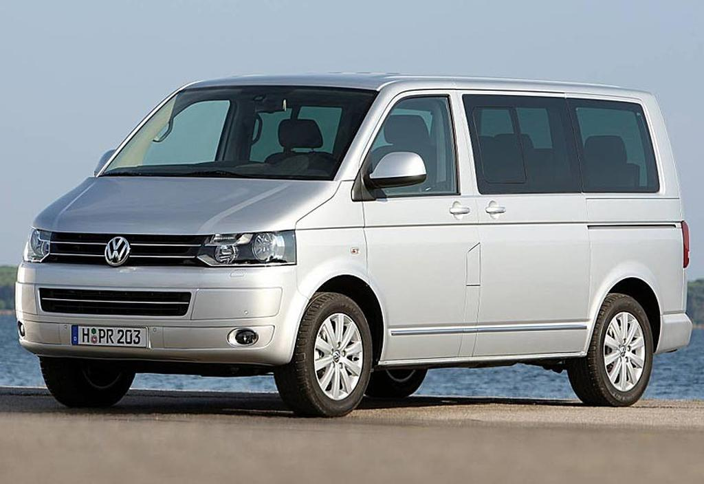 Volkswagen T5 Multivan 4motion And Transporter 4motion