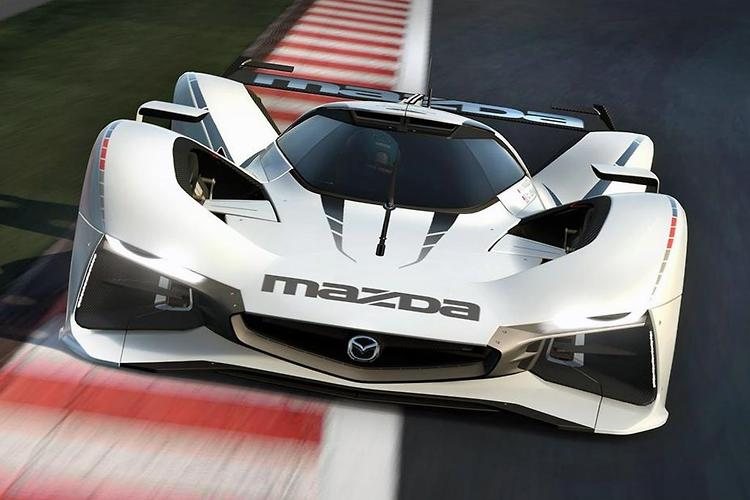 Wild LM55 Virtual Concept Inspired By Mazdau0027s 787B Le Mans Winning Race Car
