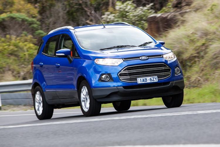 Ford ecosport vs holden trax