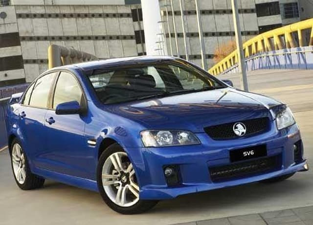 Holden commodore sv6 motoring holden commodore sv6 sciox Gallery