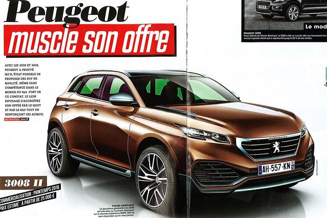 peugeot 39 s future suvs revealed. Black Bedroom Furniture Sets. Home Design Ideas
