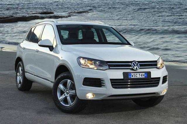 vw touareg diesel towing capacity