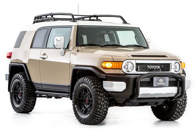 Supercharged Fj Cruiser Headlines Toyota S Stand At North America Premier Aftermarket Auto Show