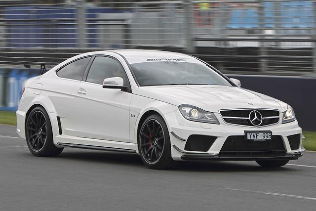 Mercedes Benz C 63 Amg Coupe Black Series Quick Spin