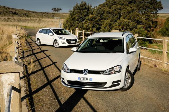 Hyundai I30 Tourer V Volkswagen Golf Wagon 2014 Comparison