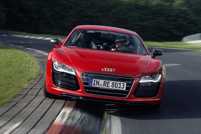 Audi R Etron First Drive Motoringcomau - Audi r8 e tron