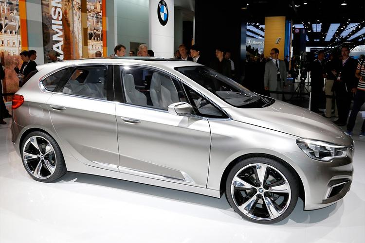 Bmw S First People Mover To Toughen Up Motoring Com Au