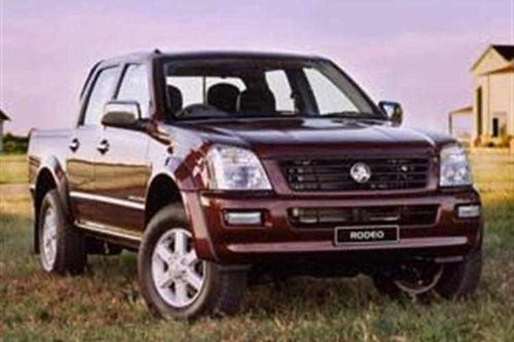 04 isuzu rodeo 3.5 engine
